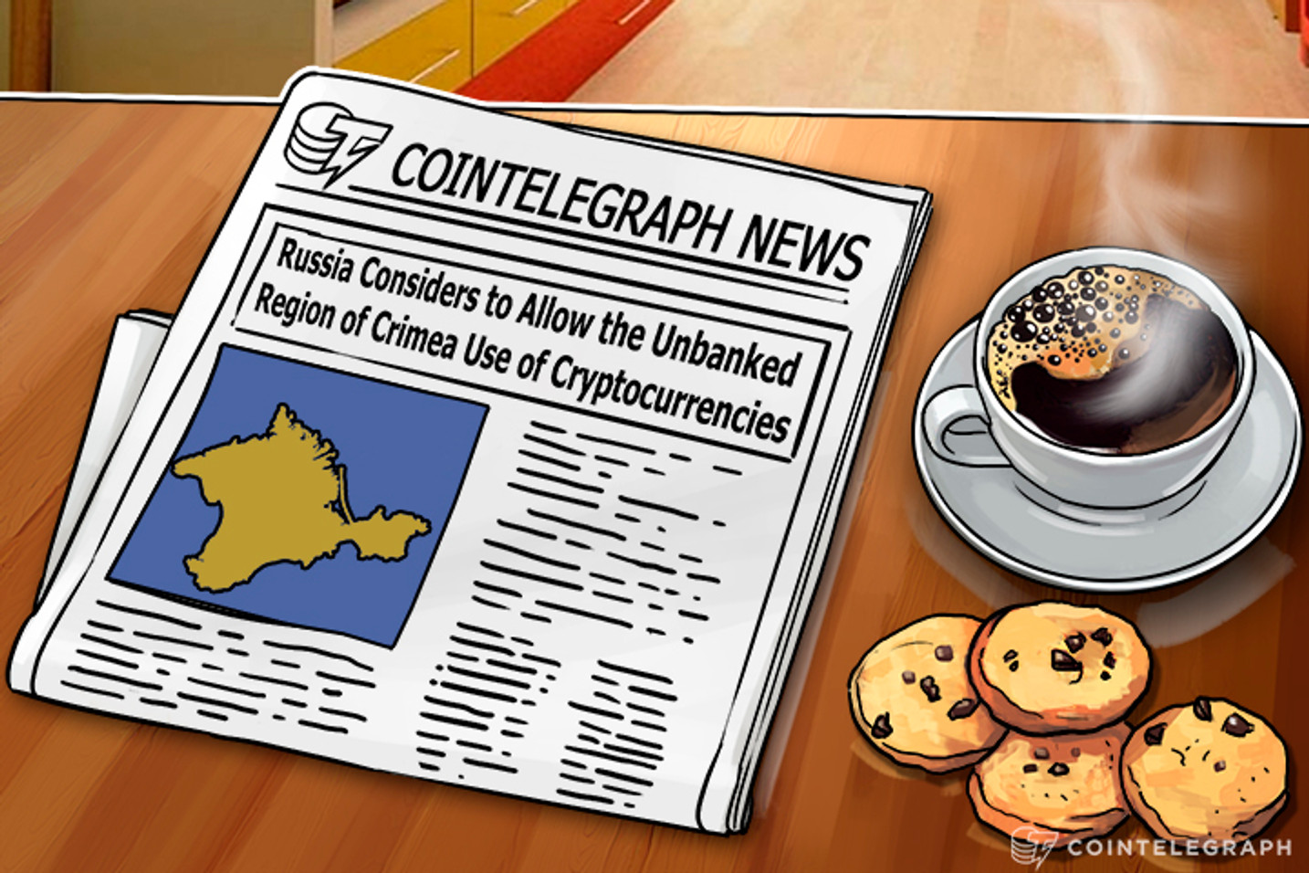 Russia Considers Allowing Use of Cryptocurrency in the Unbanked Region of Crimea