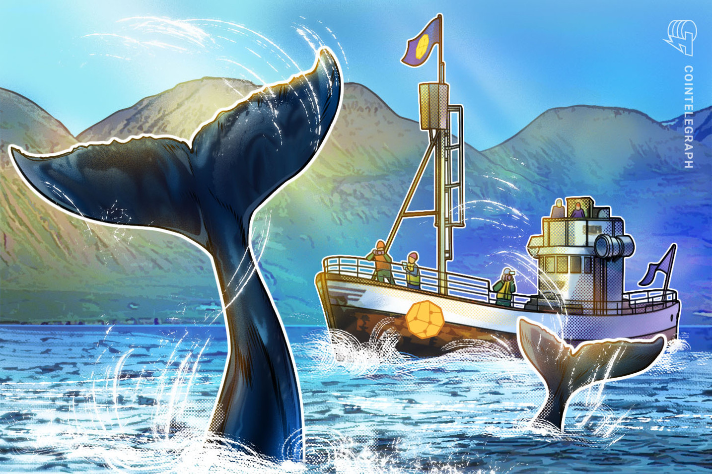 """Wenn es ruhig zugeht: Bitcoin-Wale verkaufen Bitcoin für """"Aufmerksamkeit"""""""