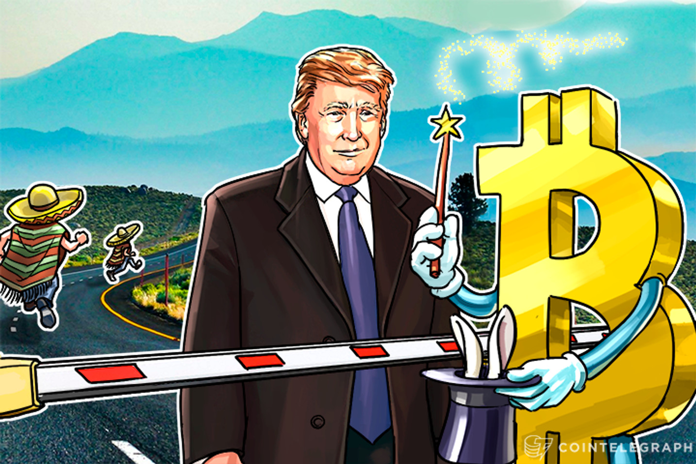 Bitcoin Will Help Mexicans to Overcome Trump's Border Wall
