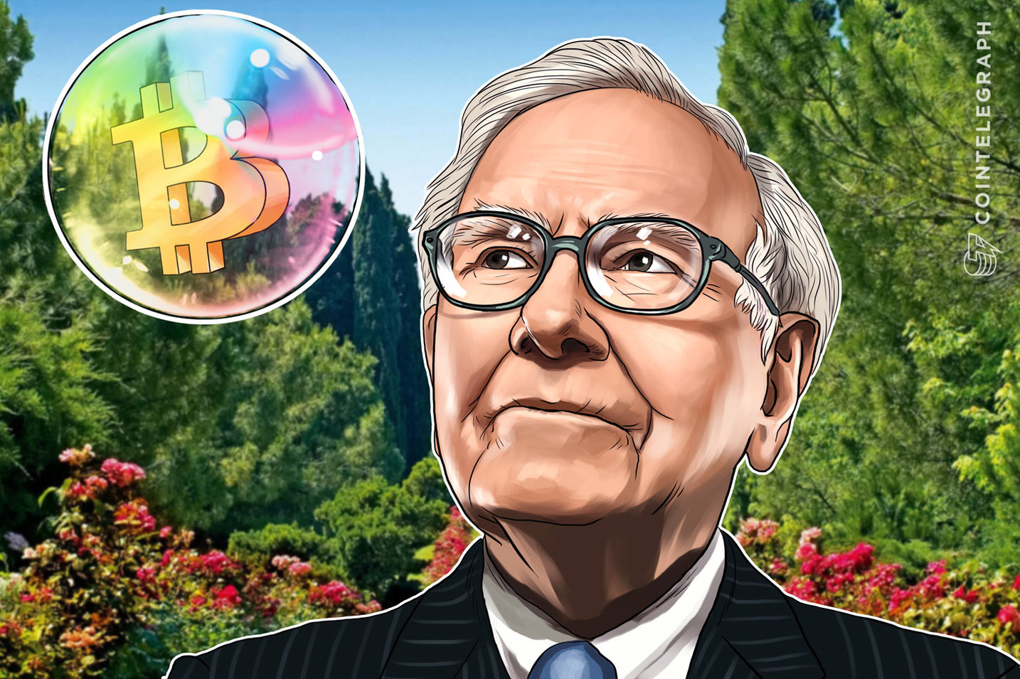 米バフェット氏「ビットコイン何も生産しない、仮想通貨購入は投資といえず」