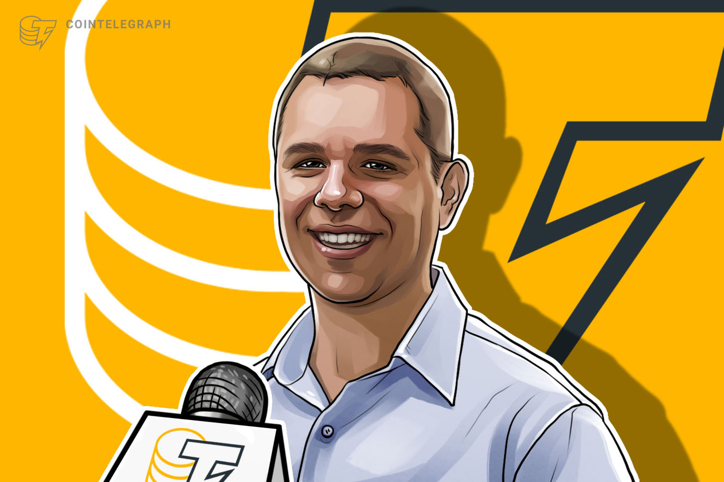Peter Vessenes in the Focus of Cointelegraph China
