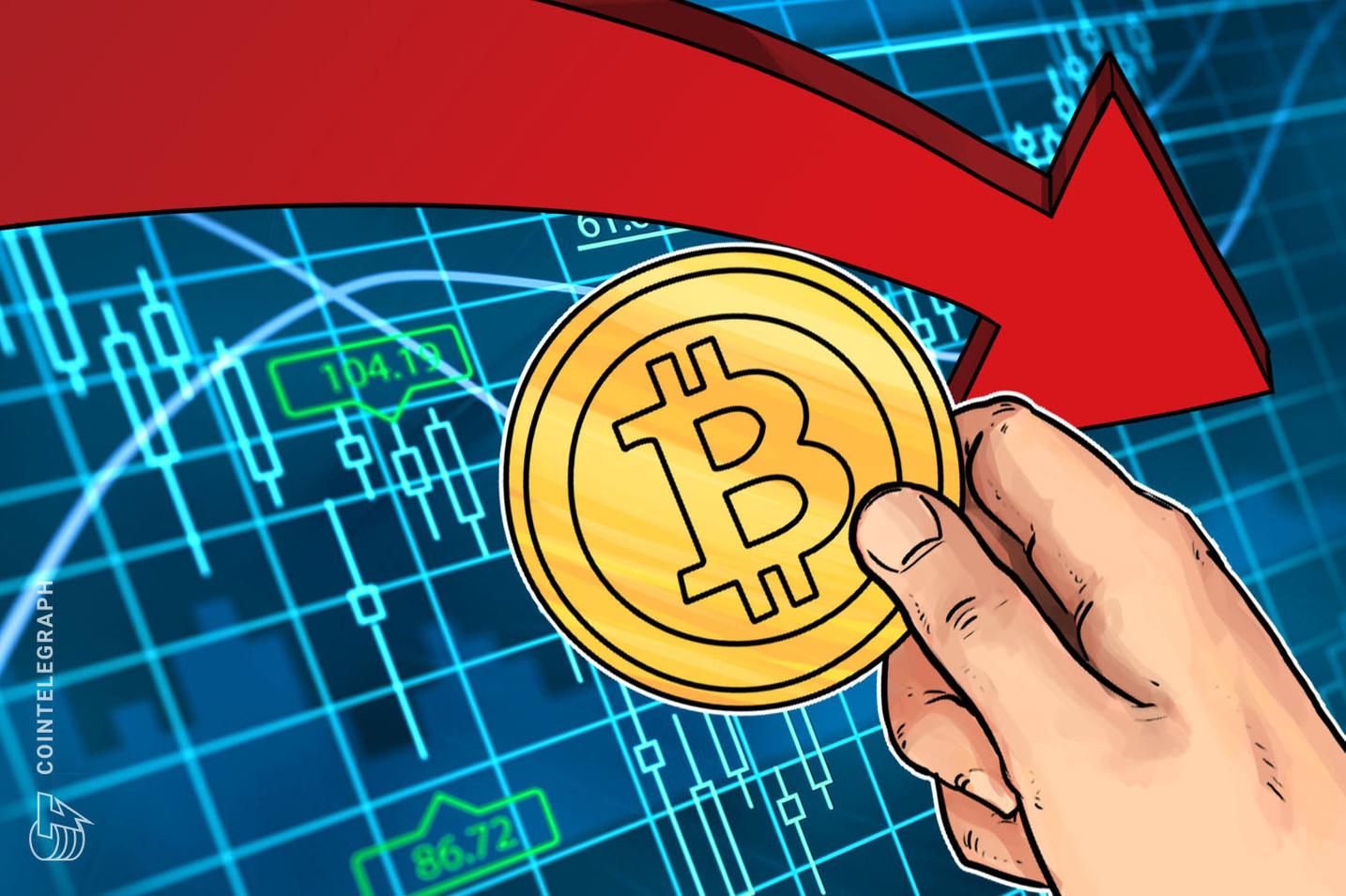 Bitcoin vacilla, i rialzisti lottano per difendere il supporto a 8.300$