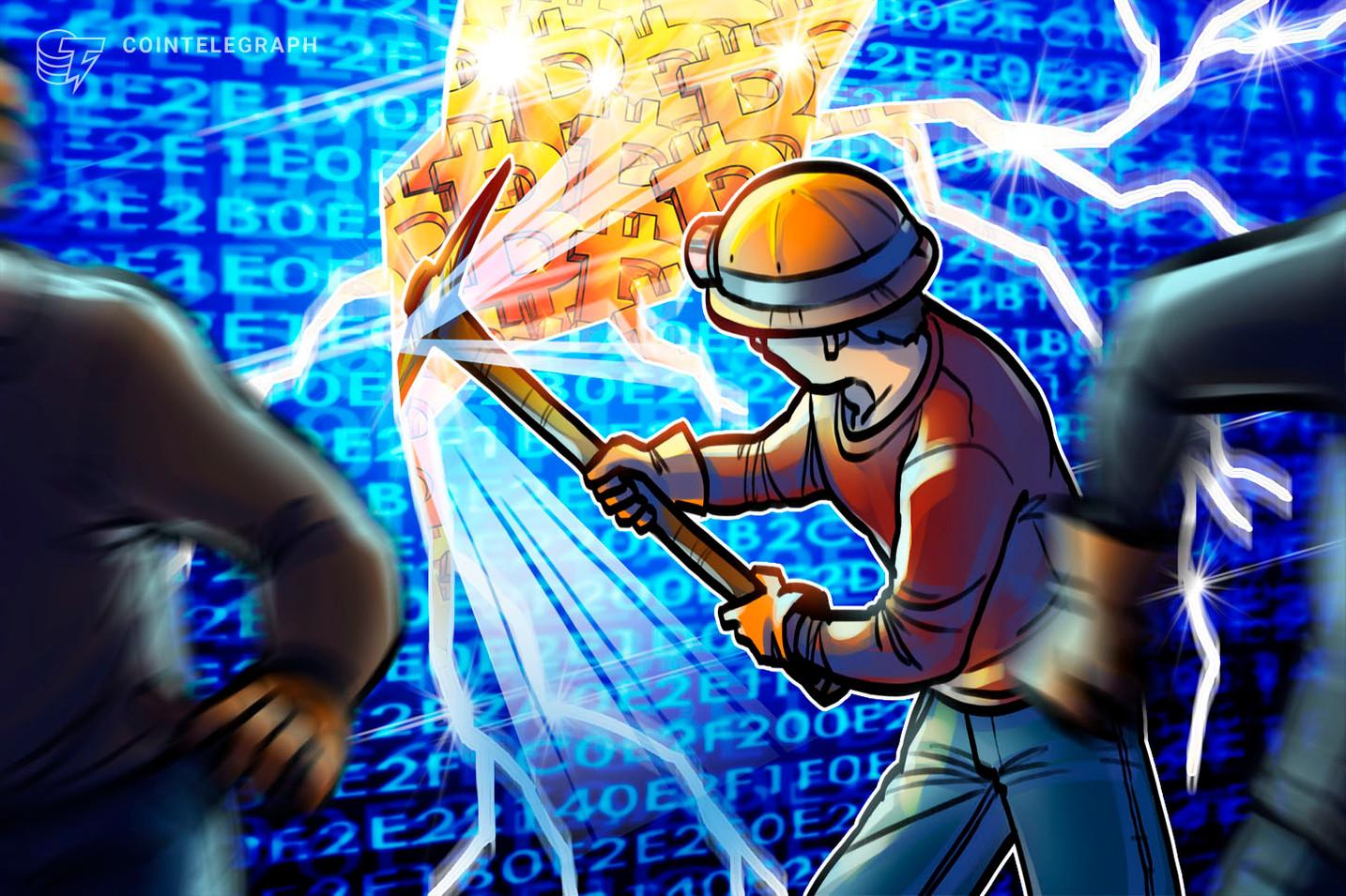Difficoltà di mining di Bitcoin raggiunge massimo storico di 17.300 miliardi