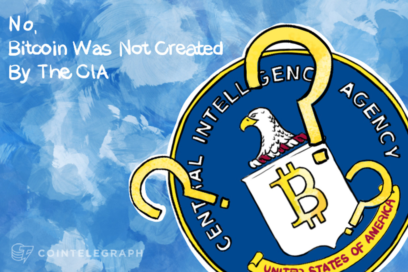 Op-Ed: No, Bitcoin Was Not Created By The CIA
