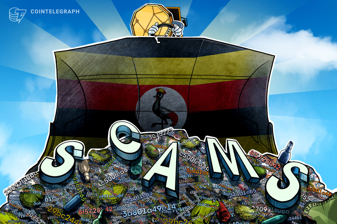 Uganda Targets Cryptocurrencies in Ponzi Scheme Crackdown