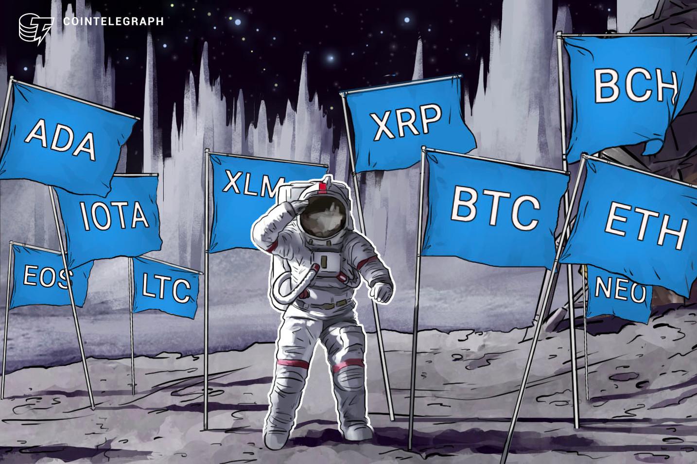 Bitcoin, Ethereum, Ripple, Bitcoin Cash, EOS, Litecoin, Cardano, Stellar, IOTA, NEO: Price Analysis, July 09