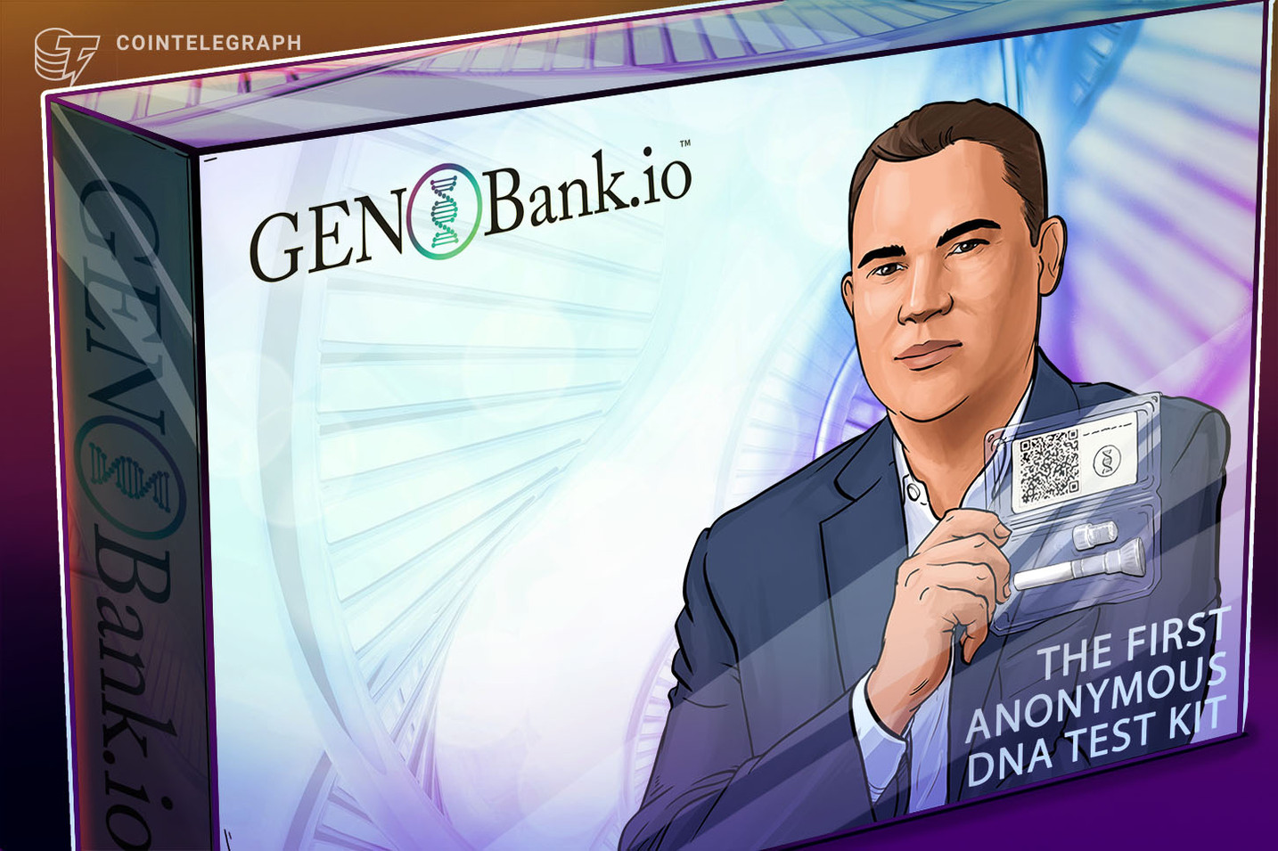'Own and Control Your DNA Data': The New Use for Nonfungible Tokens