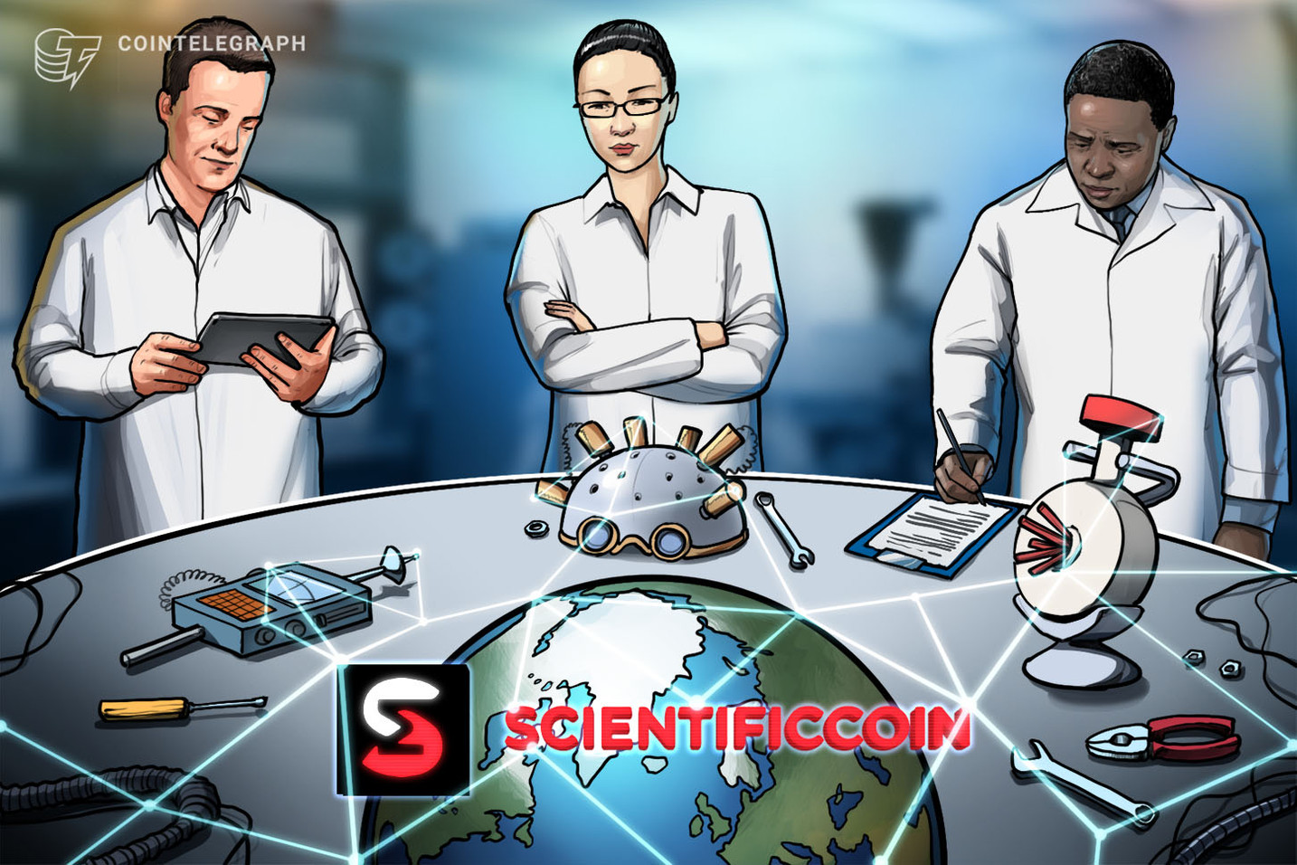 A Blockchain Ranking Machine to Select Promising Science-Focused Venture Projects