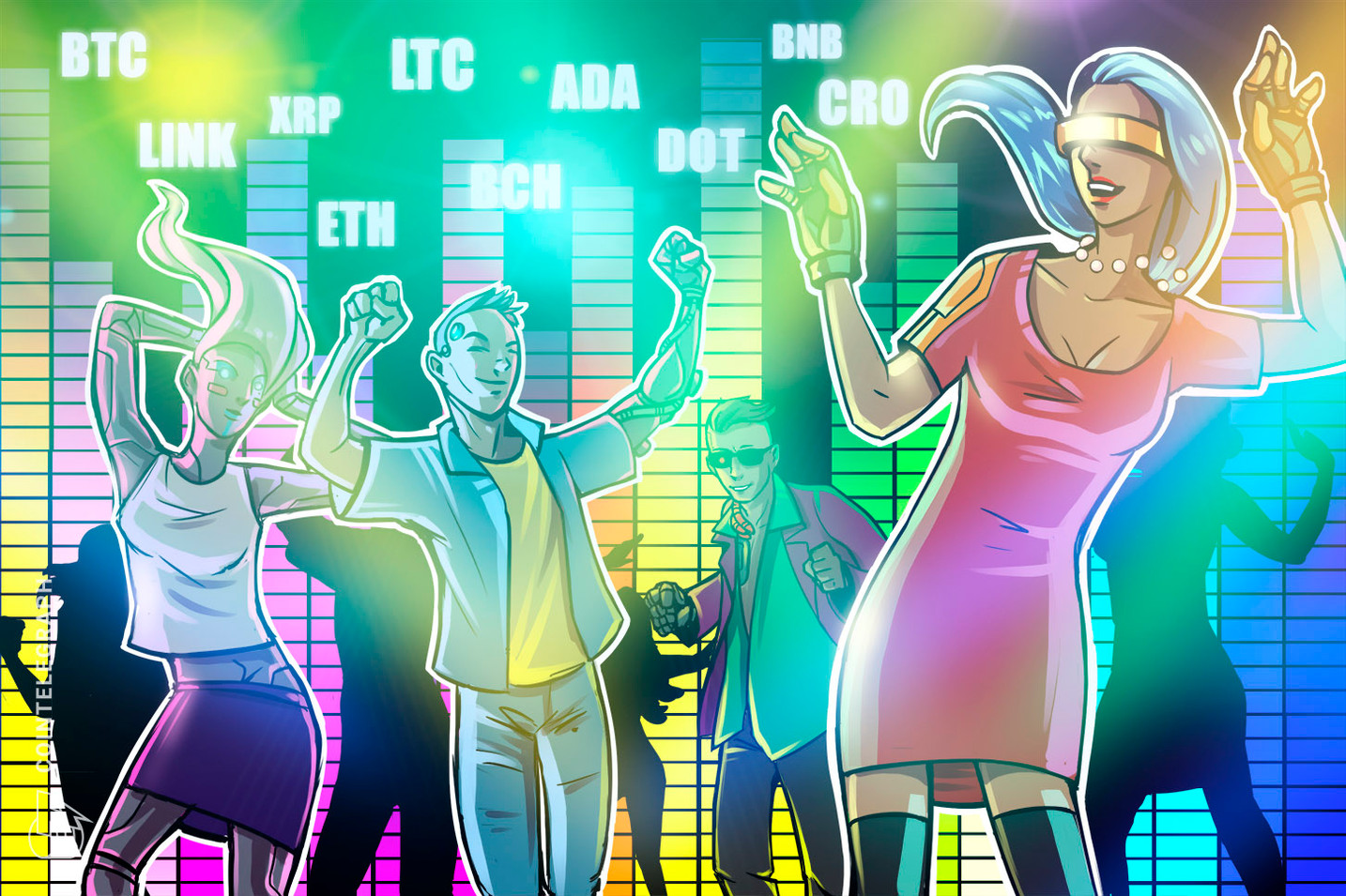 Análisis de precios al 10/5: BTC, ETH, XRP, BNB, BCH, DOT, LINK, CRO, LTC, ADA