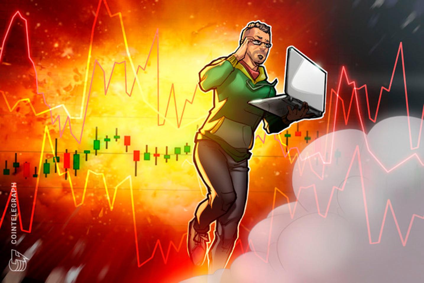 Correção do Bitcoin no final de semana esvaziou a festa do UNI