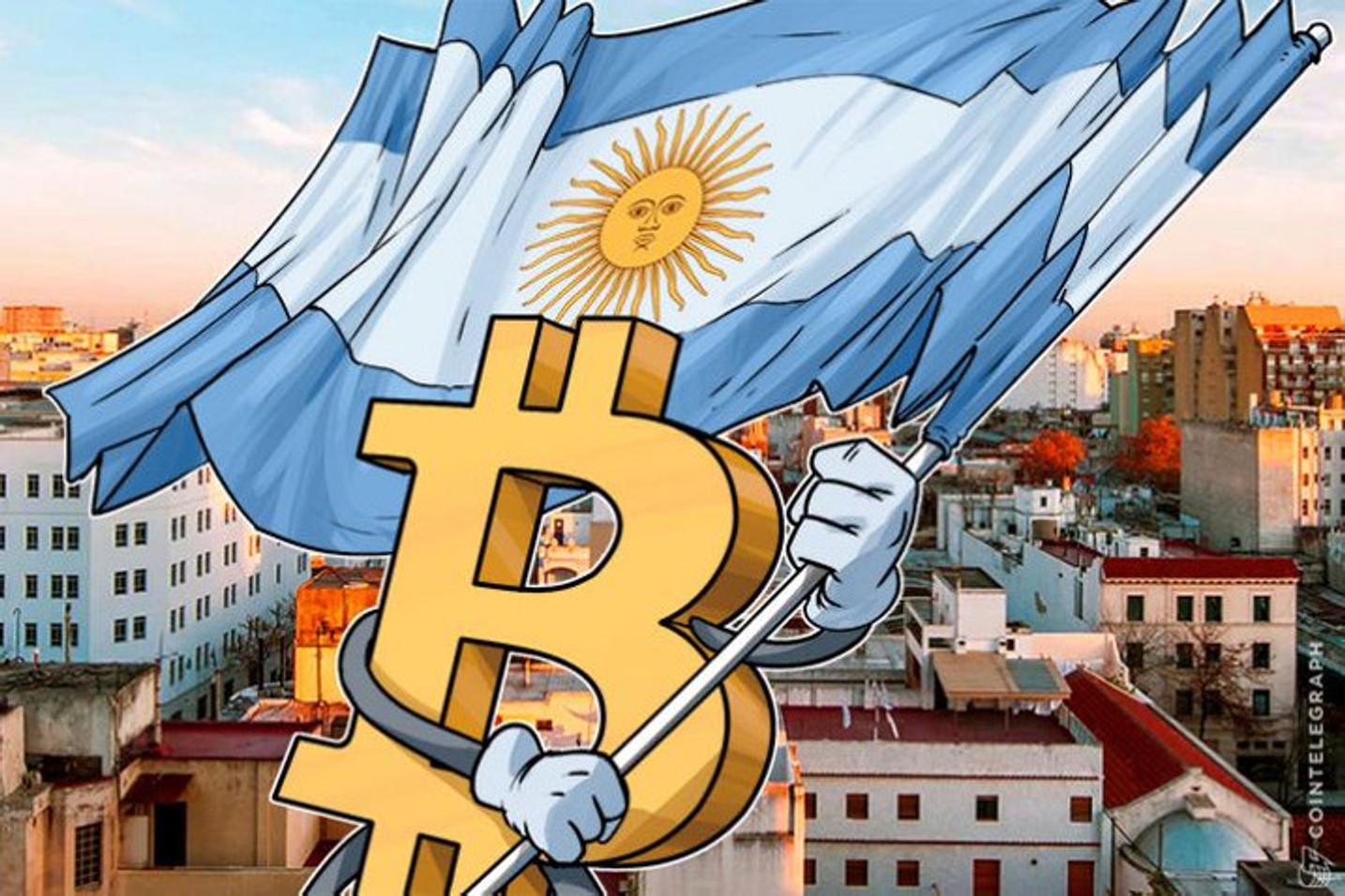 El presidente de Argentina dijo que las criptomonedas podrían ayudar a contener la inflación