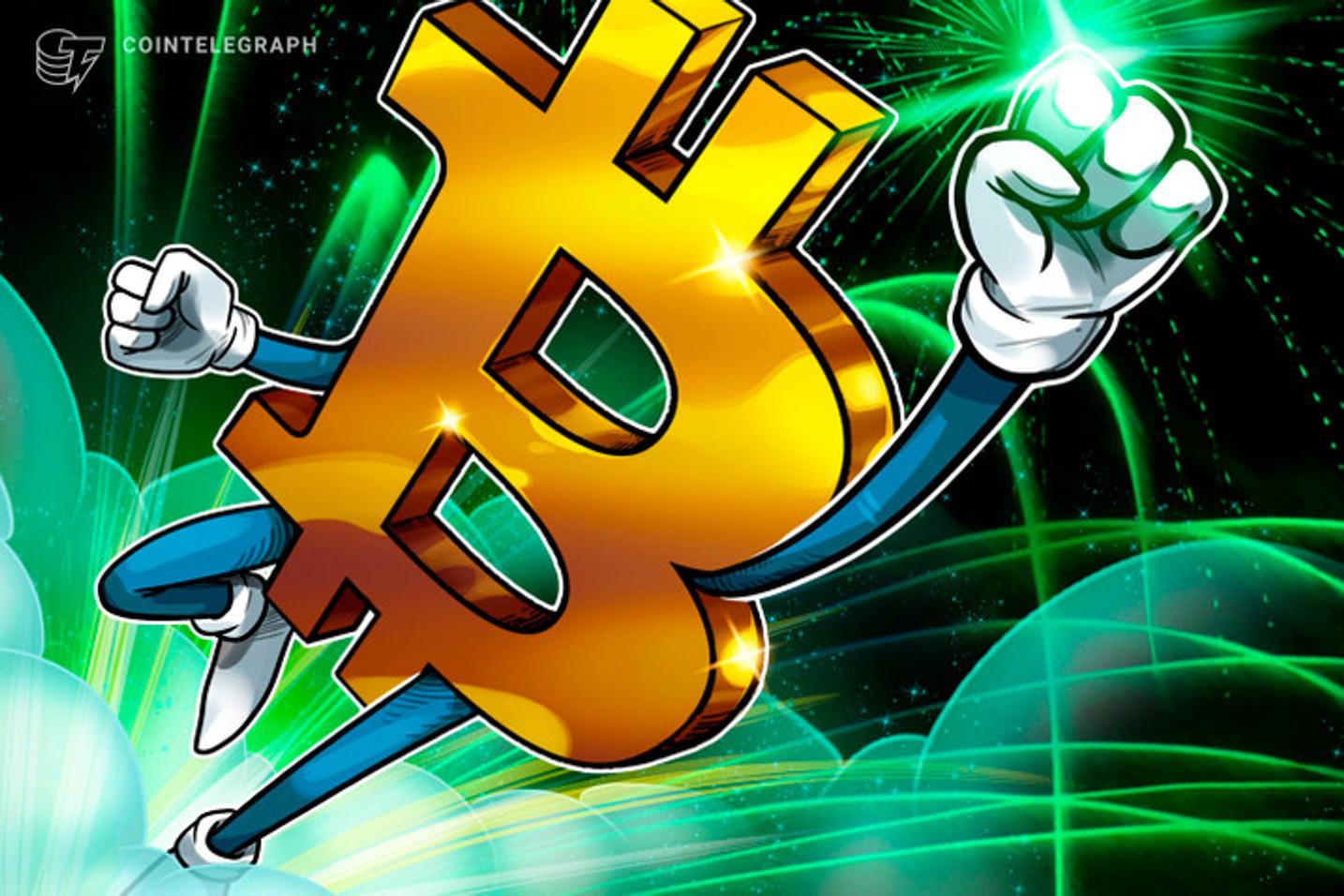 Ágio do dólar aumenta a valorização do Bitcoin