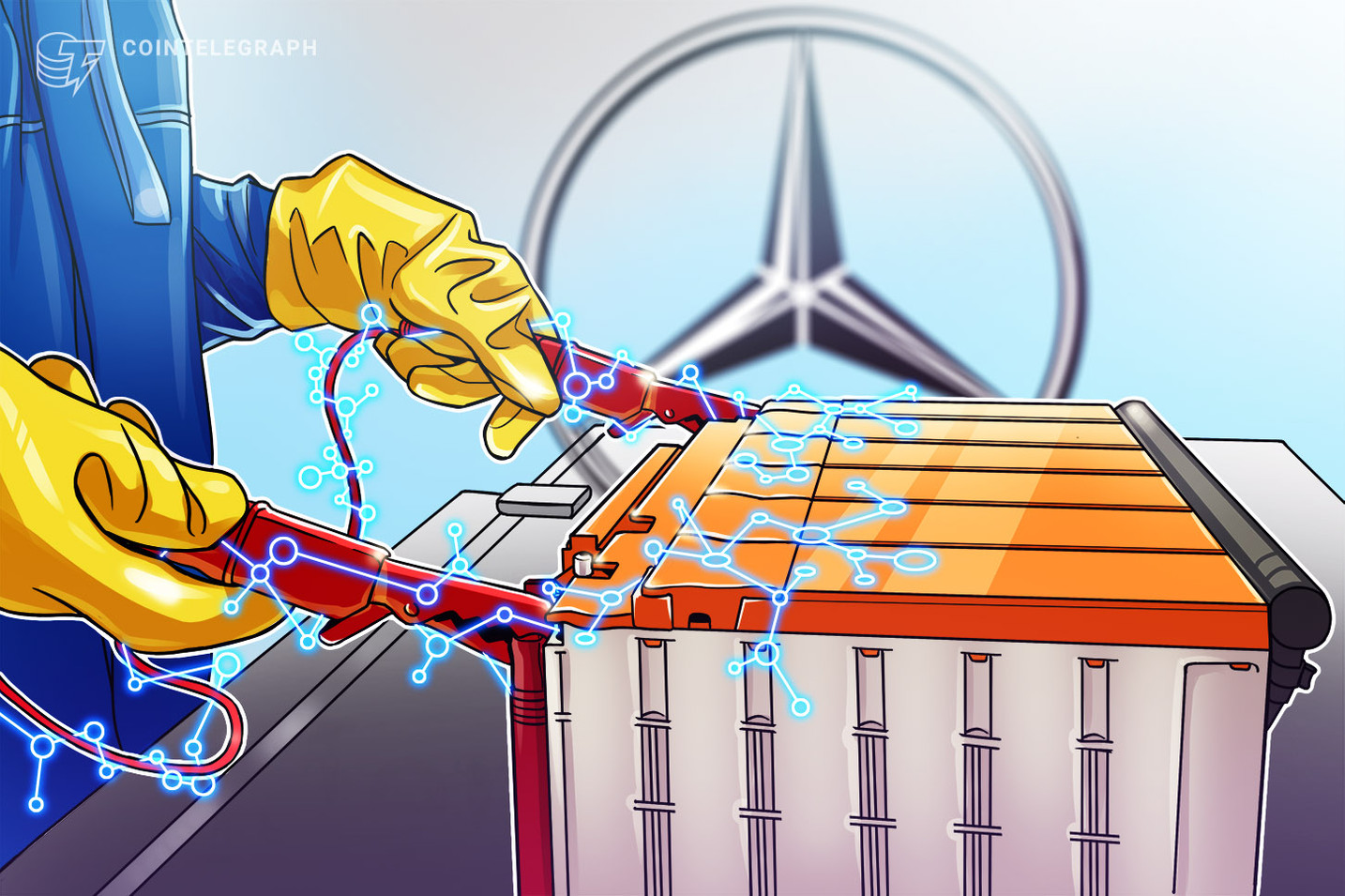 Mercedes Will Use Blockchain to Track Carbon Emissions in Cobalt Supply Chain