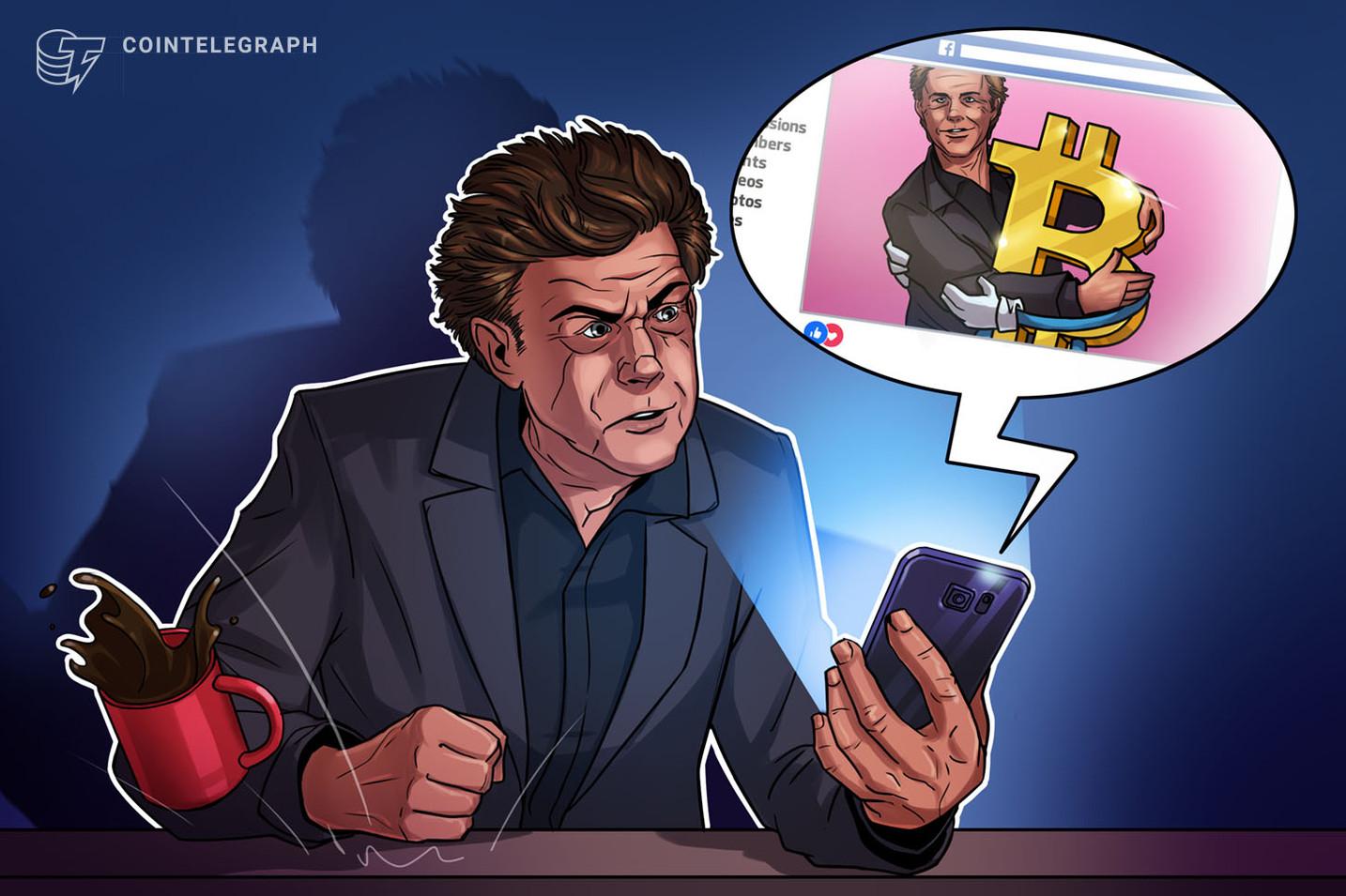 オランダの裁判所、フェイスブック上の仮想通貨広告の削除命令 有名人の画像悪用【ニュース】