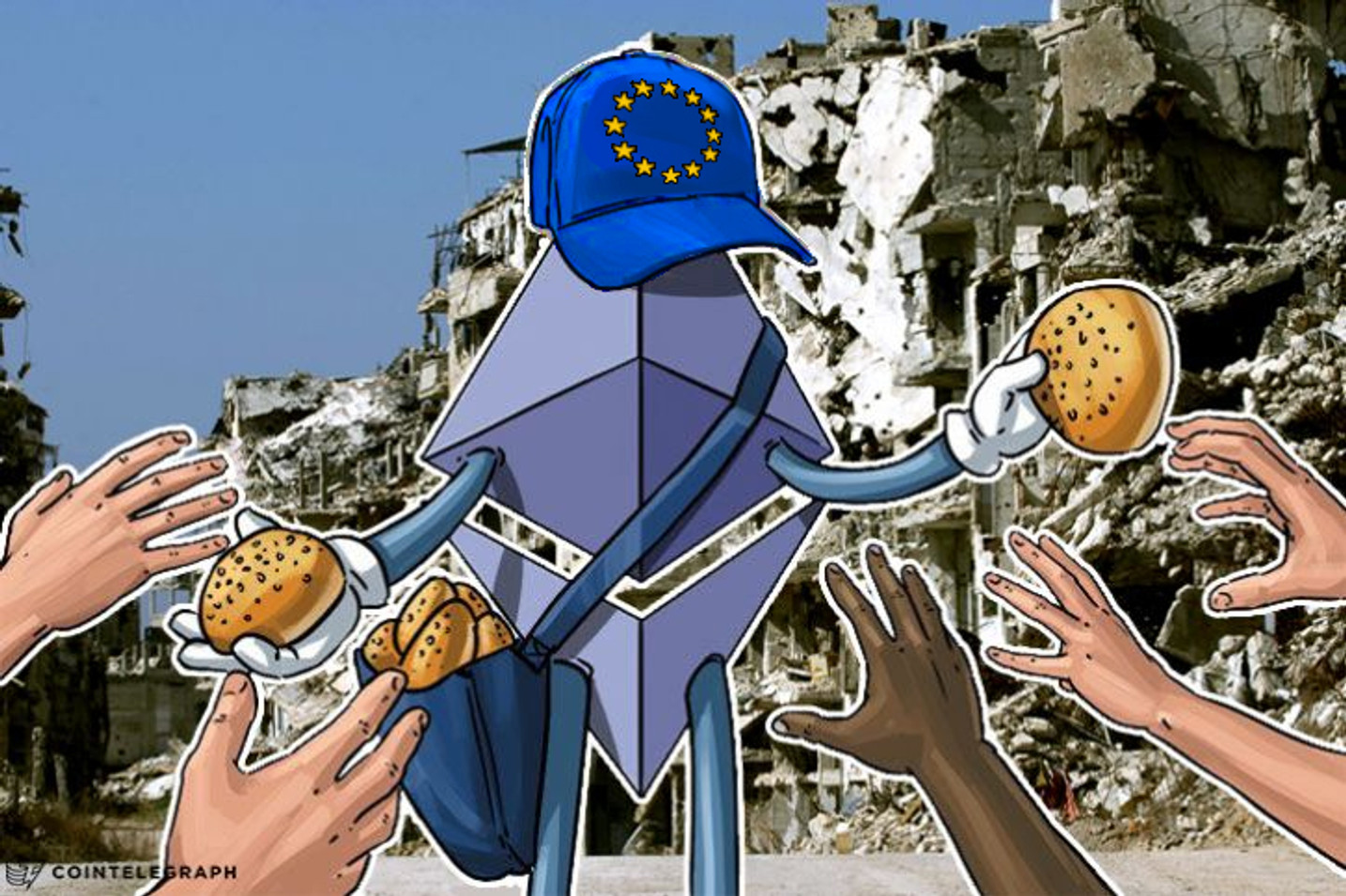 $1 Mln Ethereum Plans: European Union Eyes Helping Refugees with Blockchain