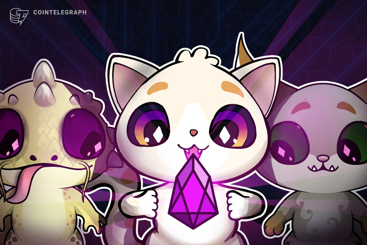 'First' Collectible on Two Blockchains: 'The Cutest Crypto Game' Now Available on EOS