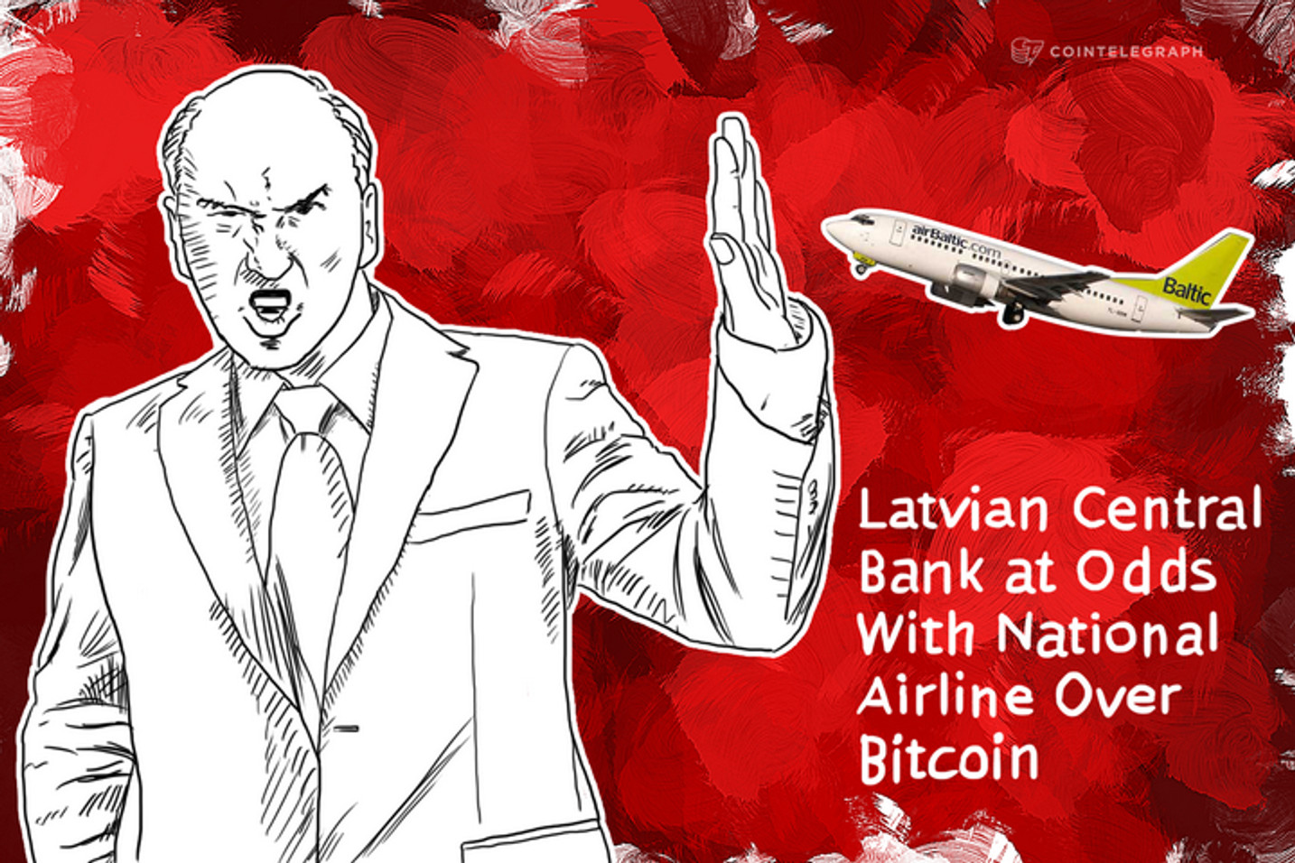 Latvian Central Bank at Odds With National Airline Over Bitcoin