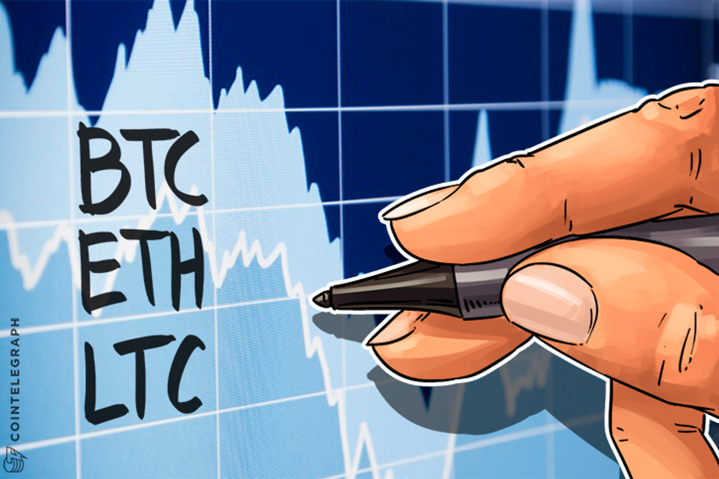 Price analysis: BTC, ETH, LTC