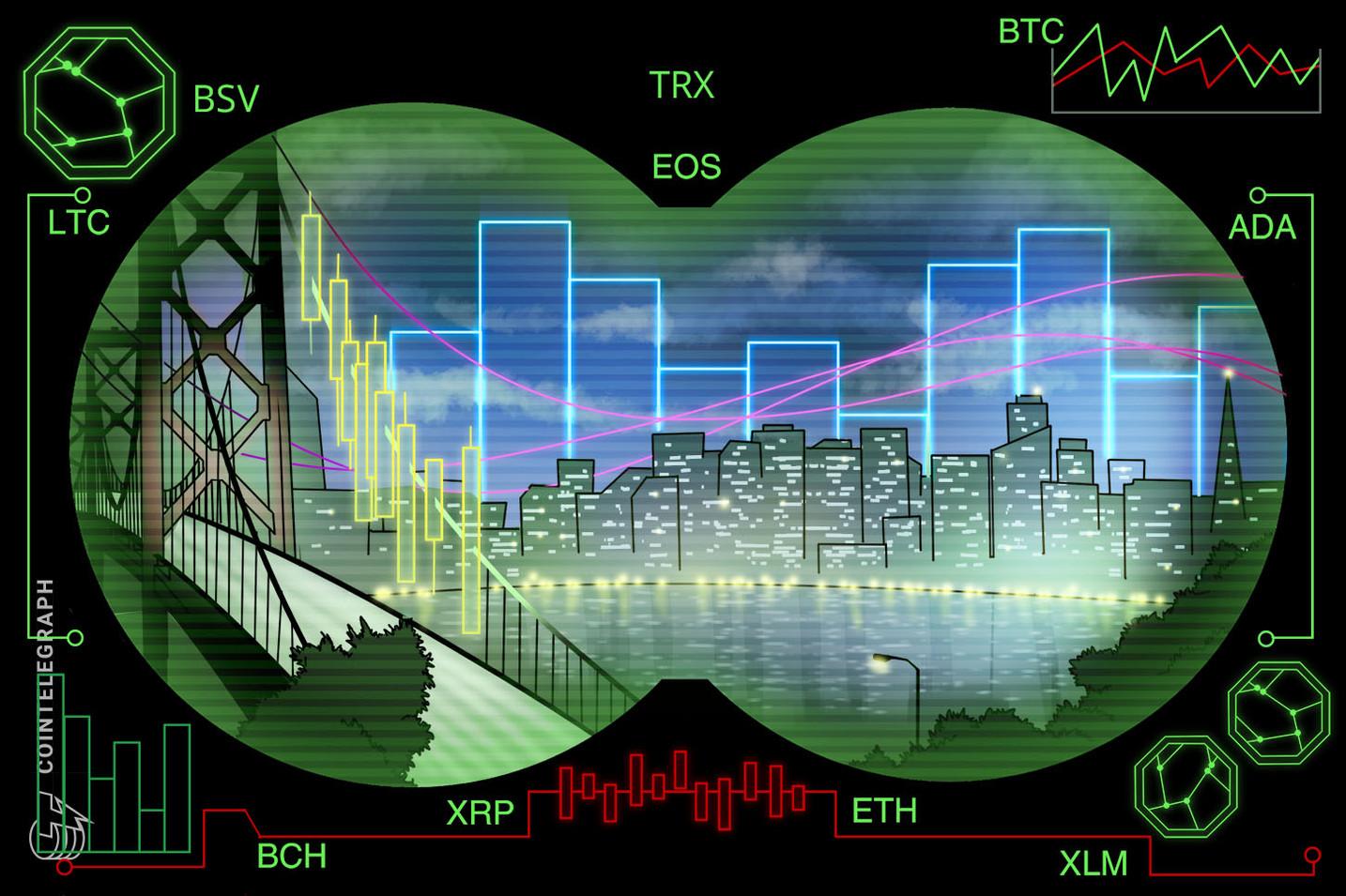ビットコインは5500ドル試す可能性も 主要仮想通貨のテクニカル分析