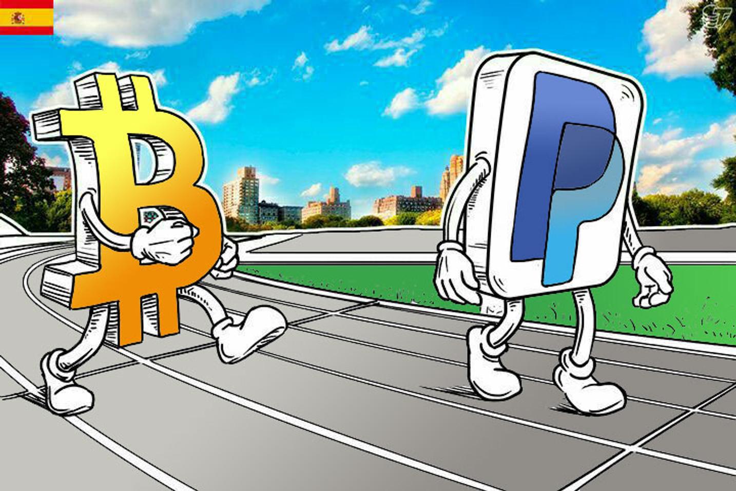 PayPal sigue perdiendo terreno ante Bitcoin