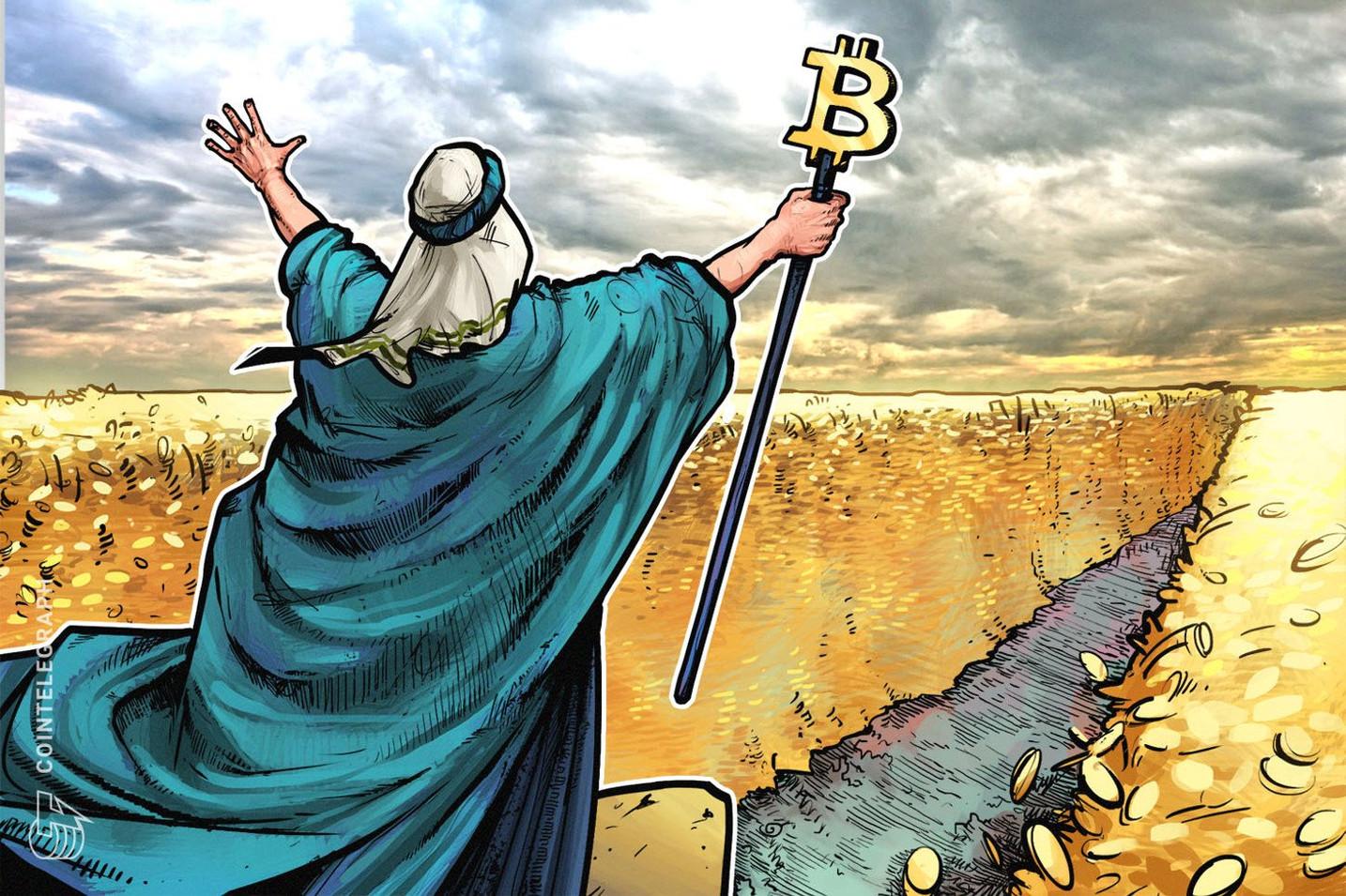 仮想通貨ビットコインの難易度調整はマイナスも、長期的には大幅プラスで10500ドル突破も?