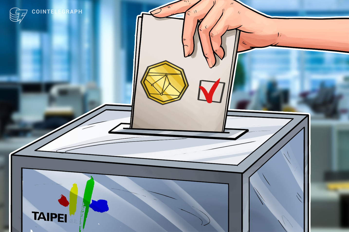 Crypto Exchange CEO Runs For Mayor Of Taipei To Make It Asia's 'Pioneer Blockchain City'