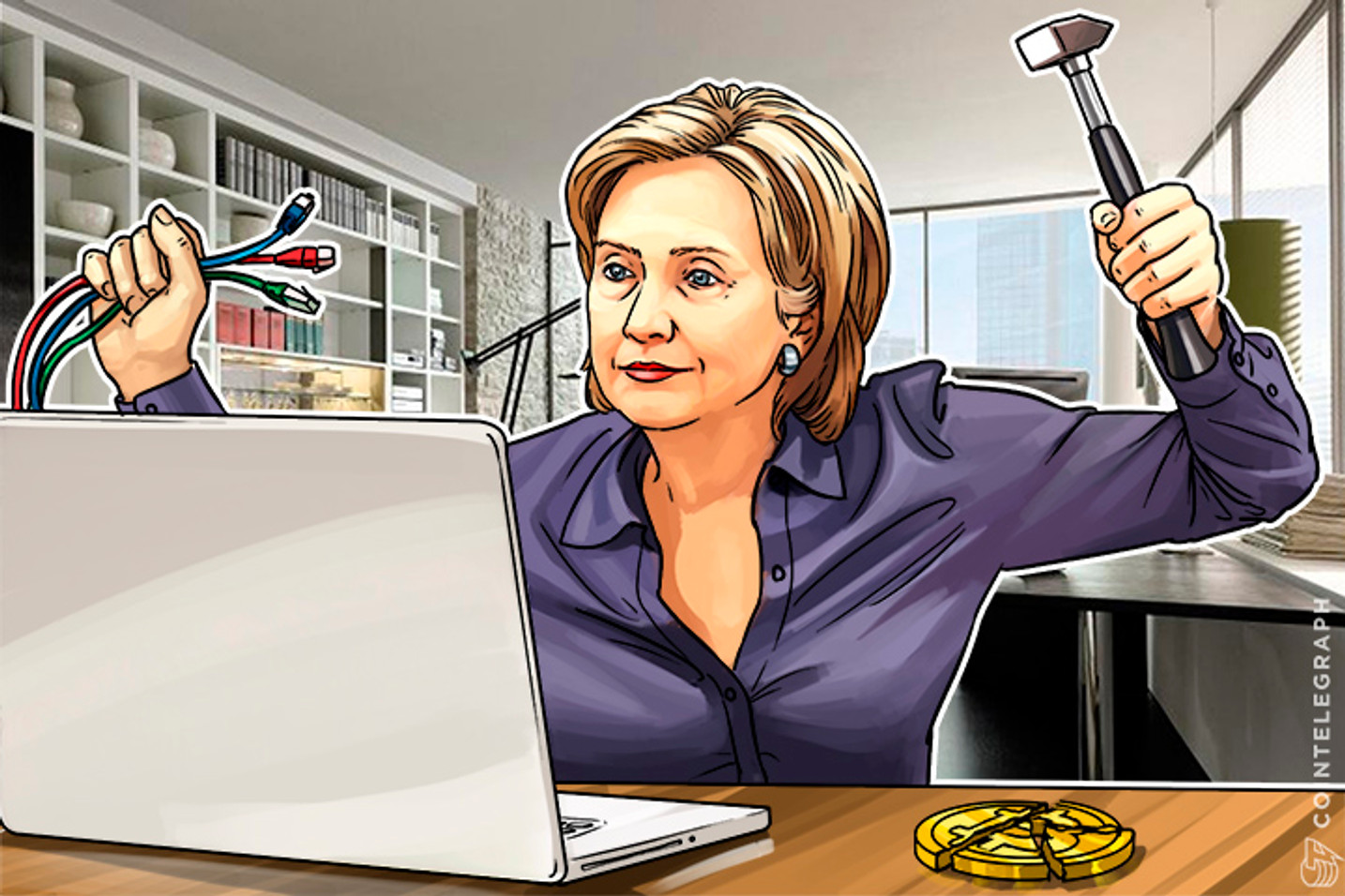 How Hillary Clinton Seeks to End The Internet, Bitcoin and The Free World (Op-Ed)