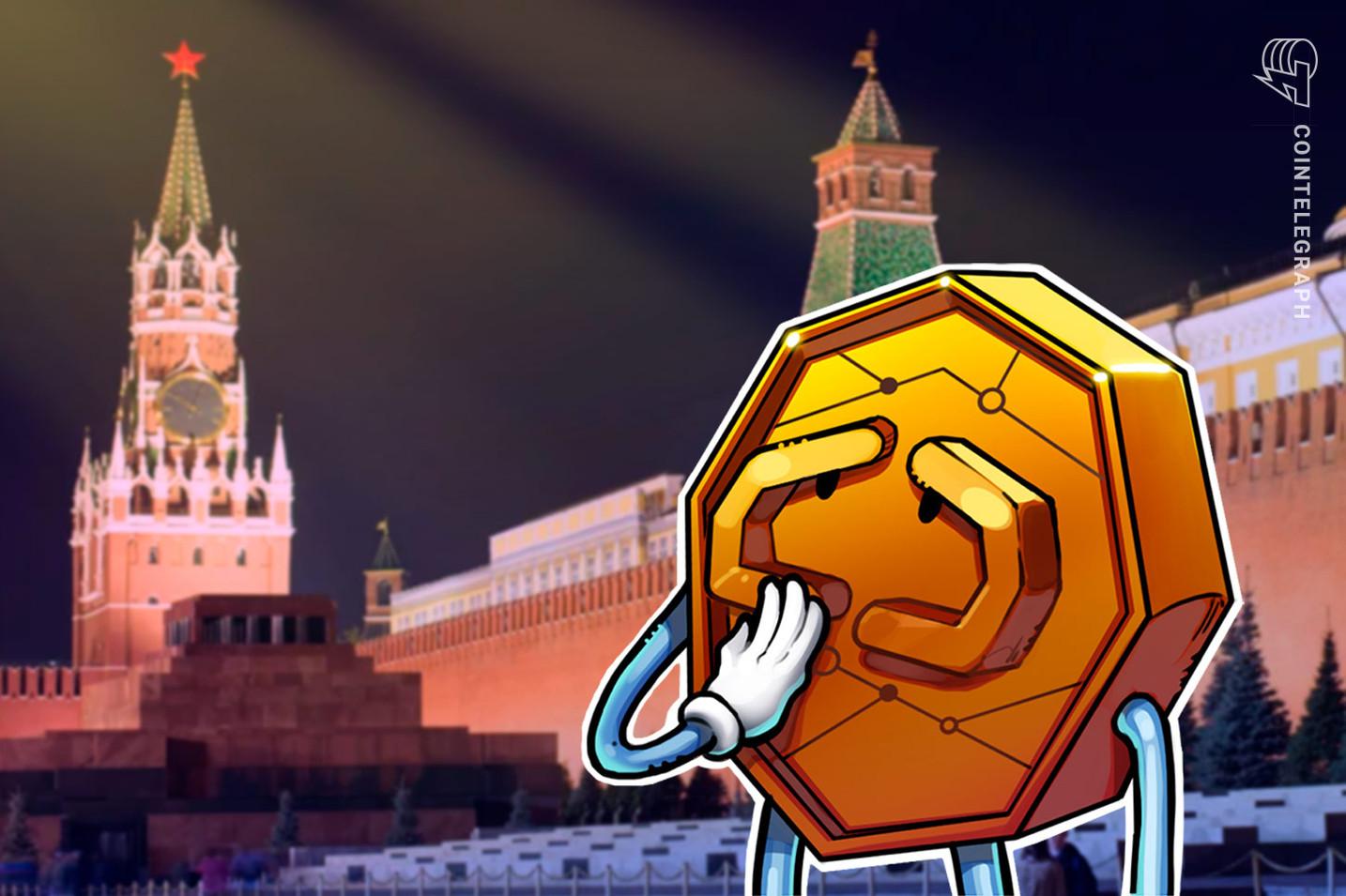 Russia propõe multa de mais de US$ 27 mil e 7 anos de prisão pelo uso ilegal de criptomoedas