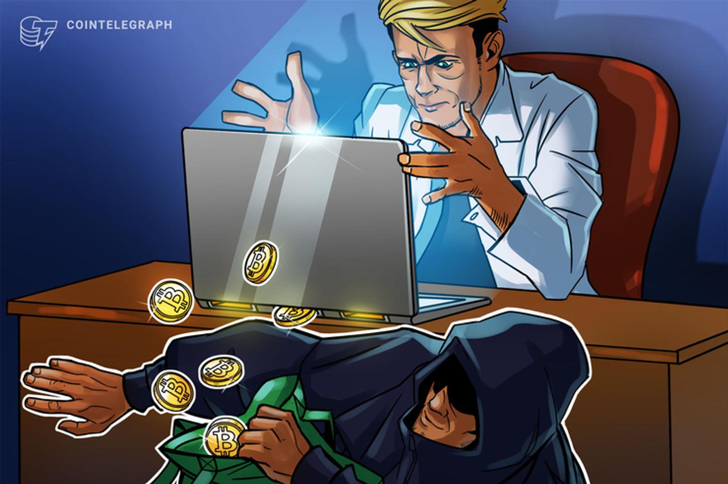 Em matéria paga na 'Exame', empresário diz ser especialista em criptomoedas e oferece serviços de empresa banida do Brasil