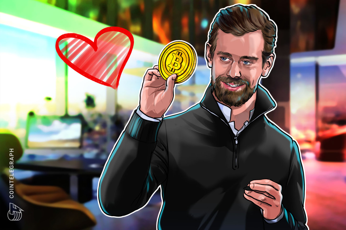 Twitter, Square Founder Jack Dorsey Says 'We Love You Bitcoin'