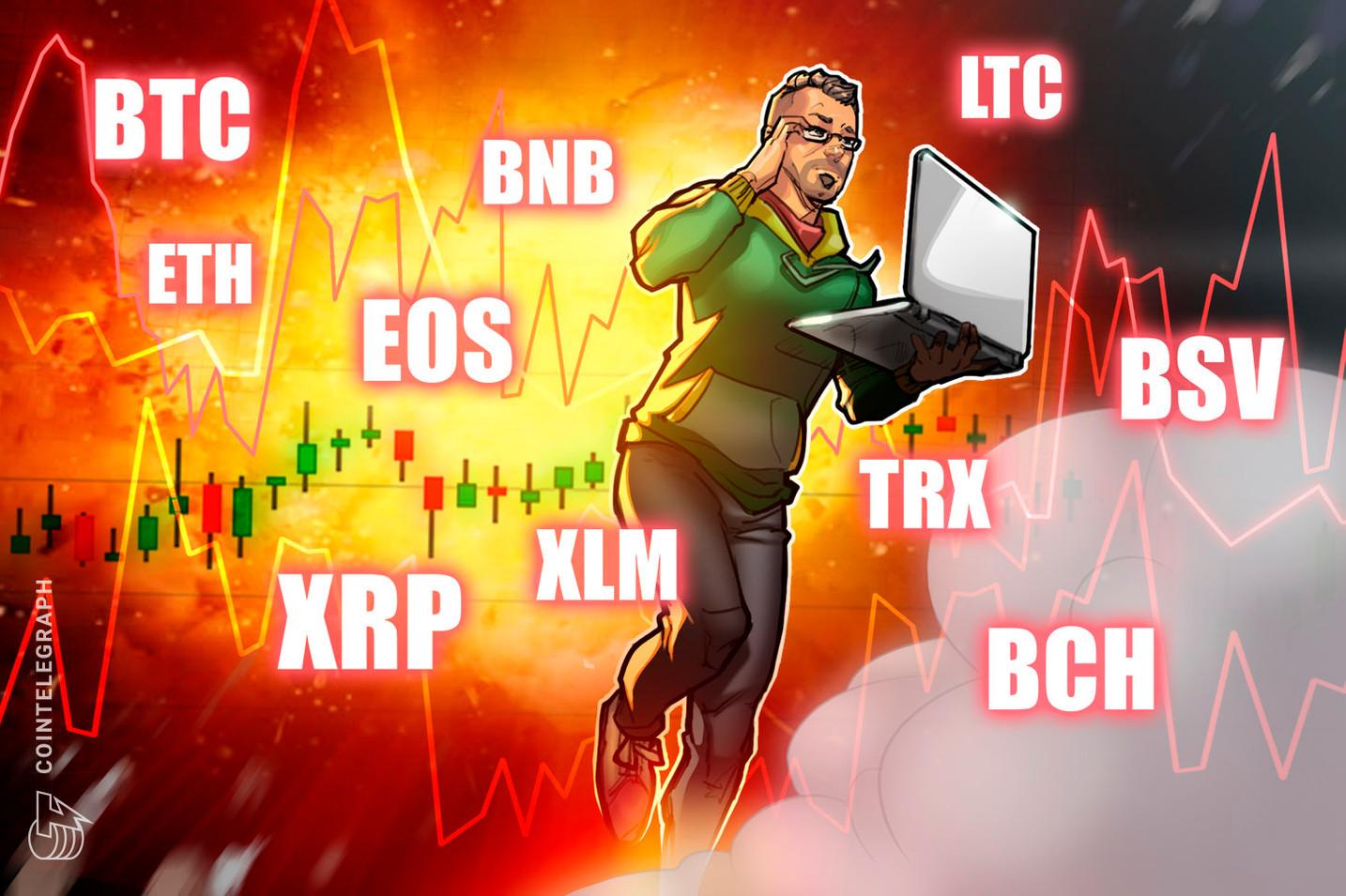 Bitcoin, Ethereum, Ripple, Litecoin, EOS, Bitcoin Cash, Binance Coin, Stellar, TRON, Bitcoin SV: Price Analysis, March 11