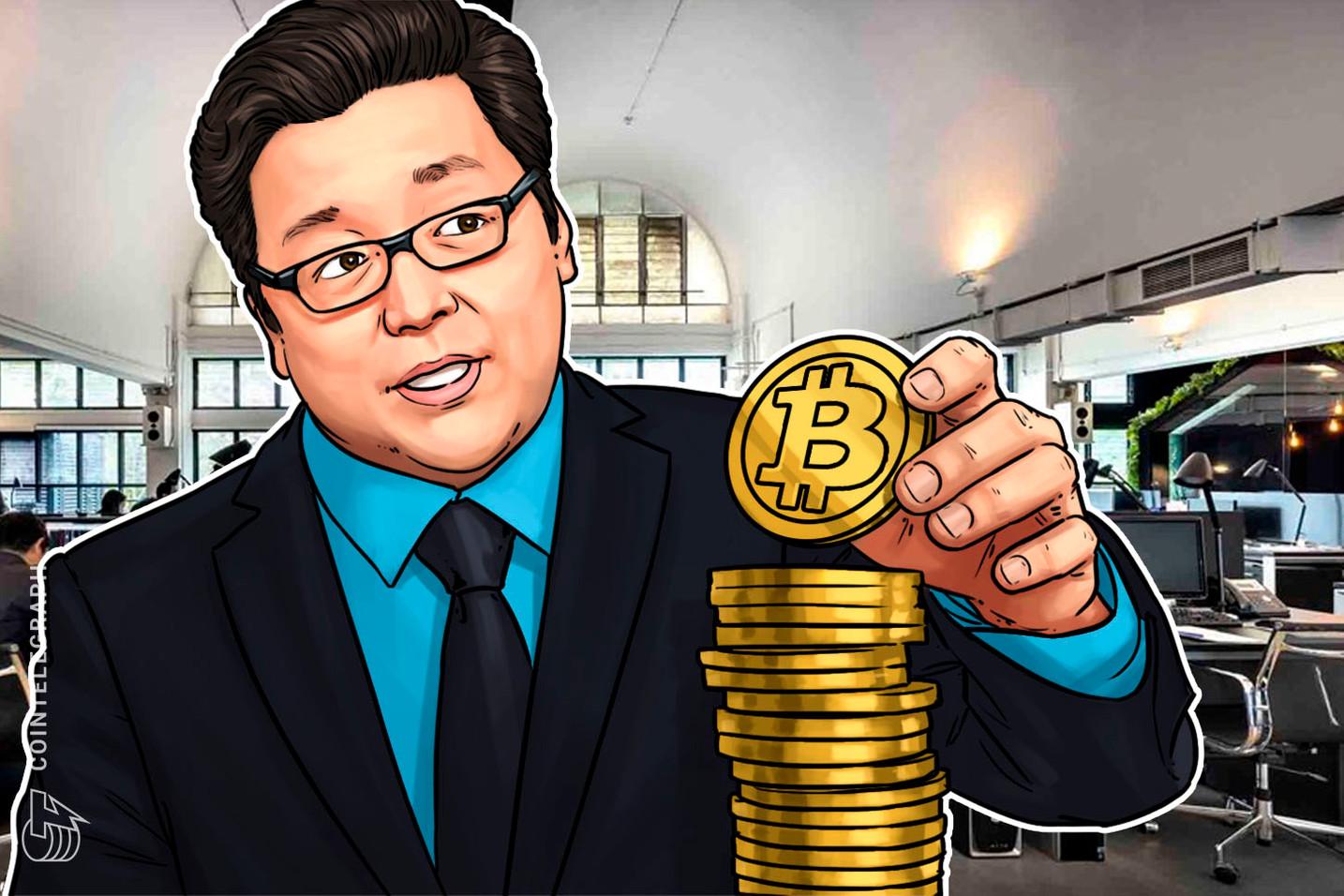 """Tom Lee, do Fundstrat, está """"surpreendido de maneira agradável"""" pela recente estabilidade do Bitcoin"""