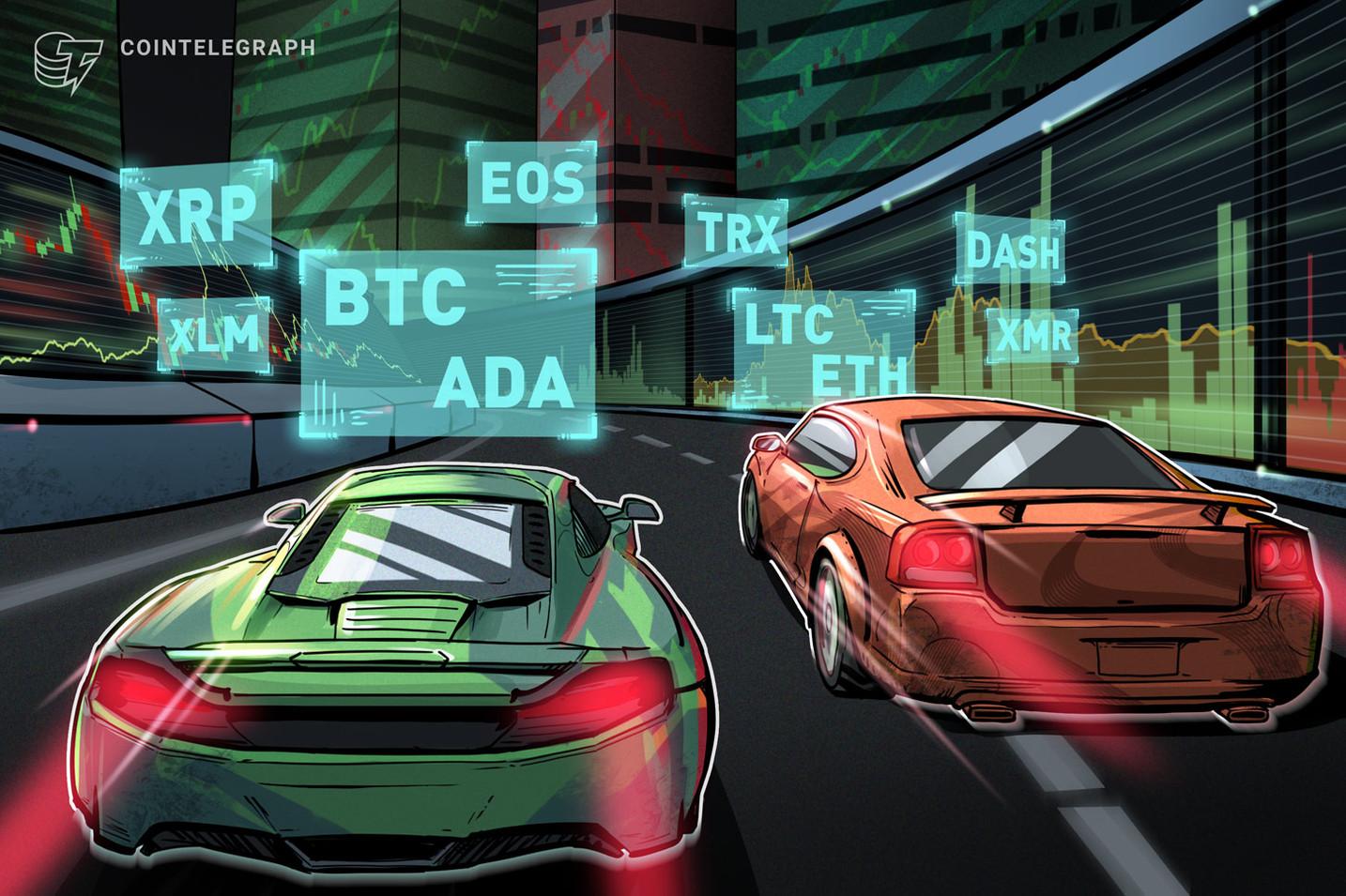 Bitcoin, Ripple, Ethereum, Stellar, EOS, Litecoin, Cardano, Monero, TRON, DASH: Price Analysis, Nov. 16