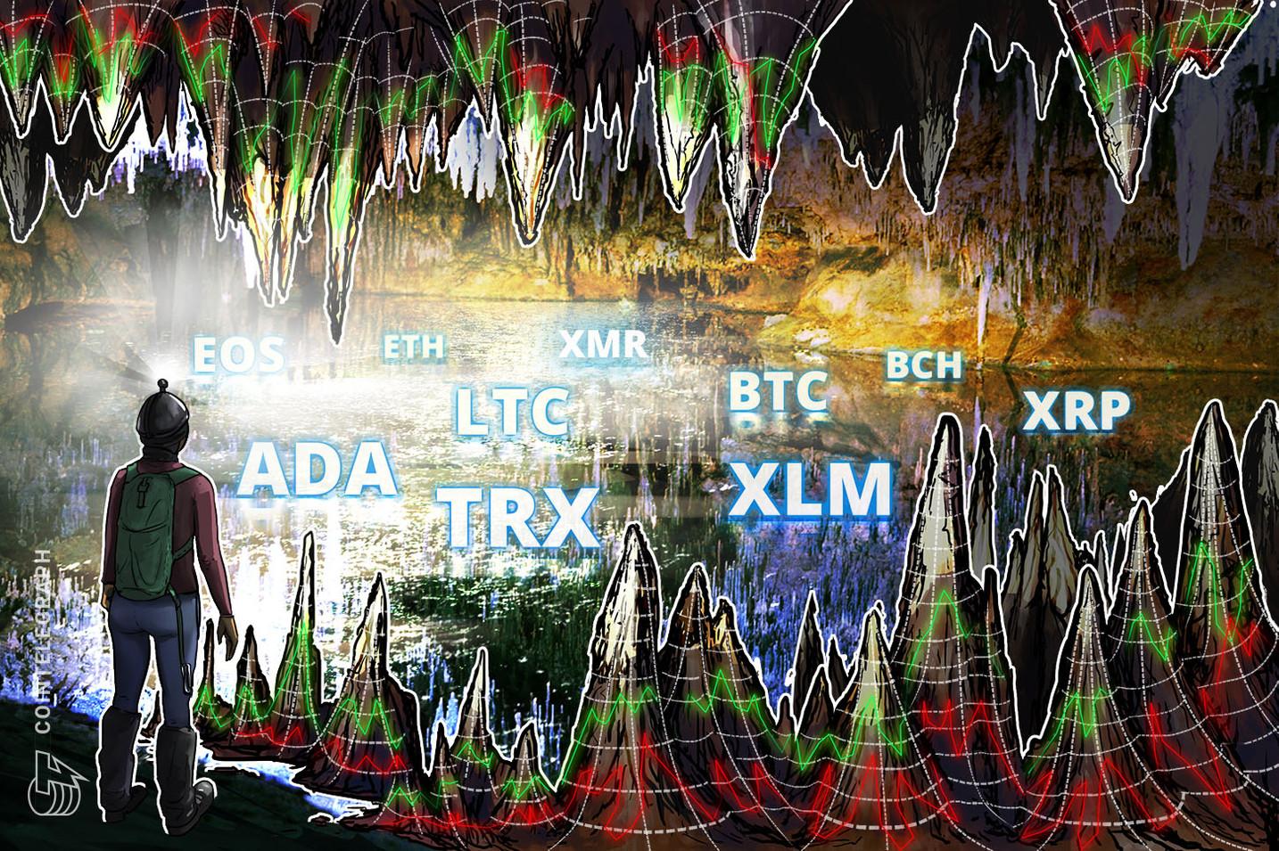 Bitcoin, Ethereum, Ripple, Bitcoin Cash, EOS, Stellar, Litecoin, Cardano, Monero, TRON: Price Analysis, Nov. 7