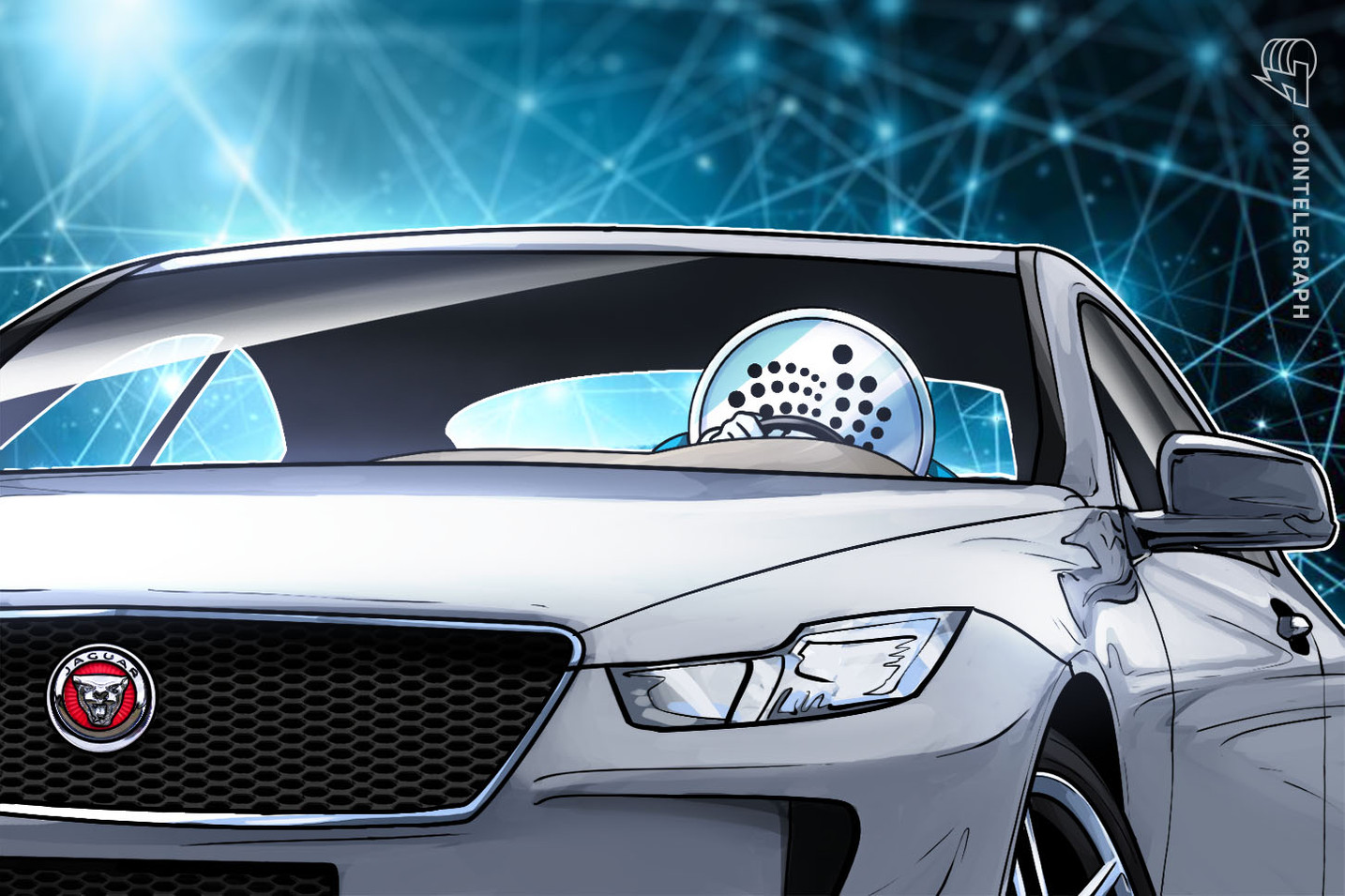 Jaguar utiliza Iota en una demostración de prueba de concepto para rastrear la energía del automóvil