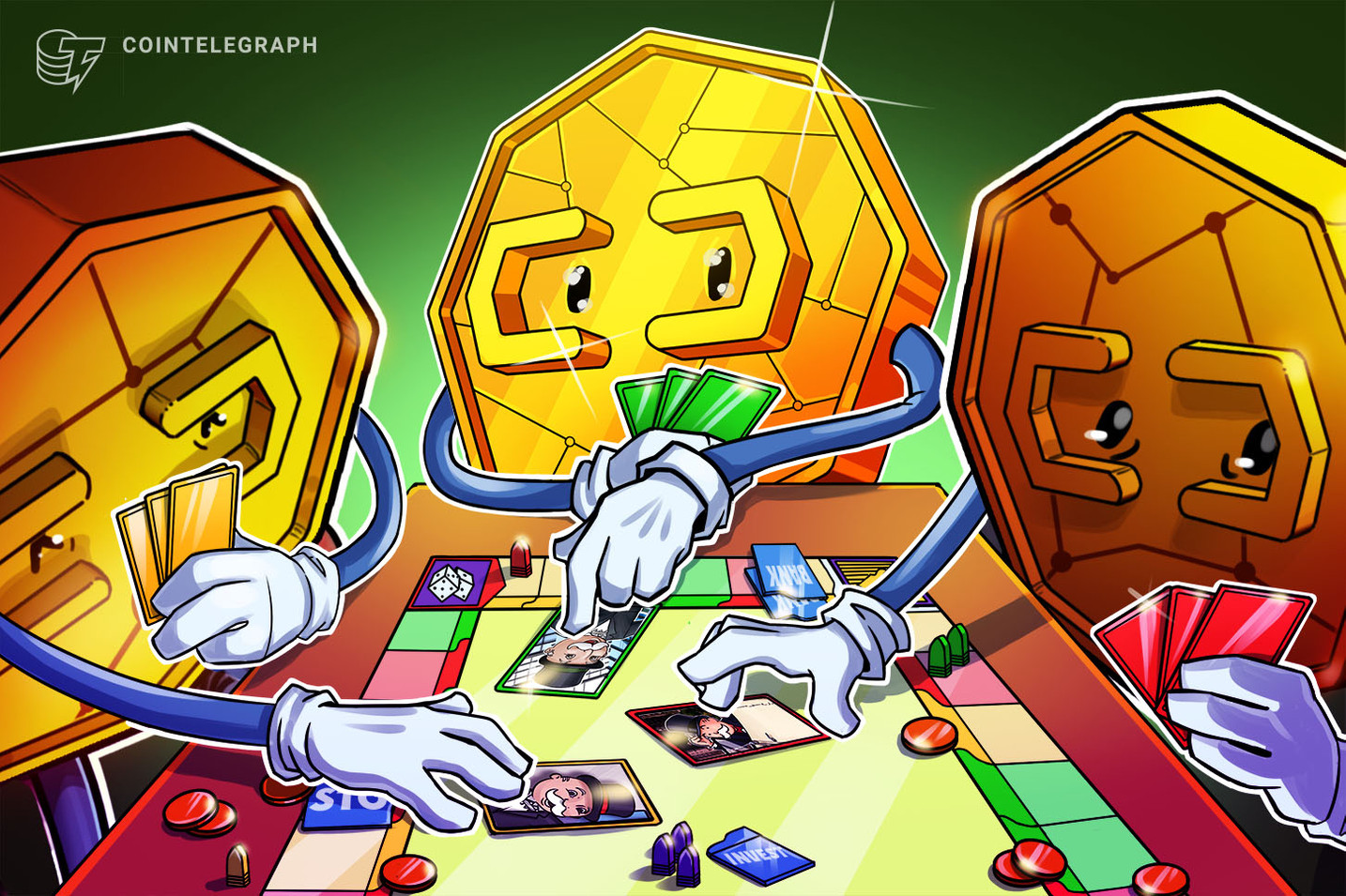 Fungible Tokens Turn Monopoly Money Into Cryptocurrency