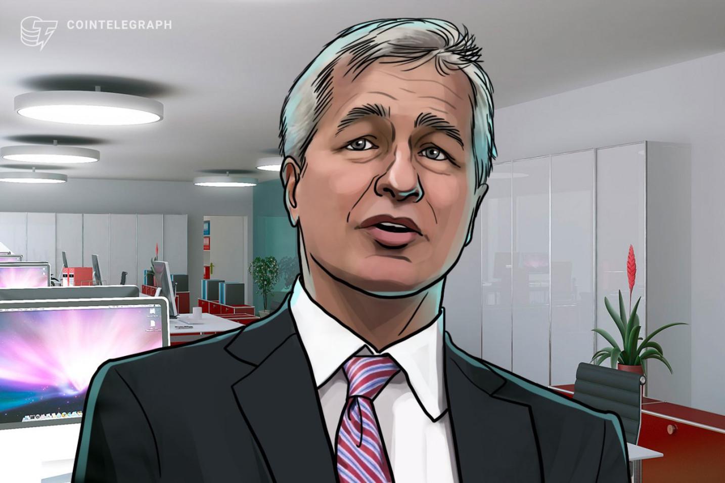 Nonostante le precedenti critiche, il CEO di JPMorgan Jamie Dimon non è felice del declino del Bitcoin