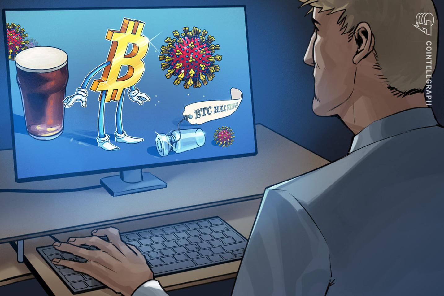 Beer & Bitcoin: Compartilhando informações sobre o Coronavírus e o halving do BTC