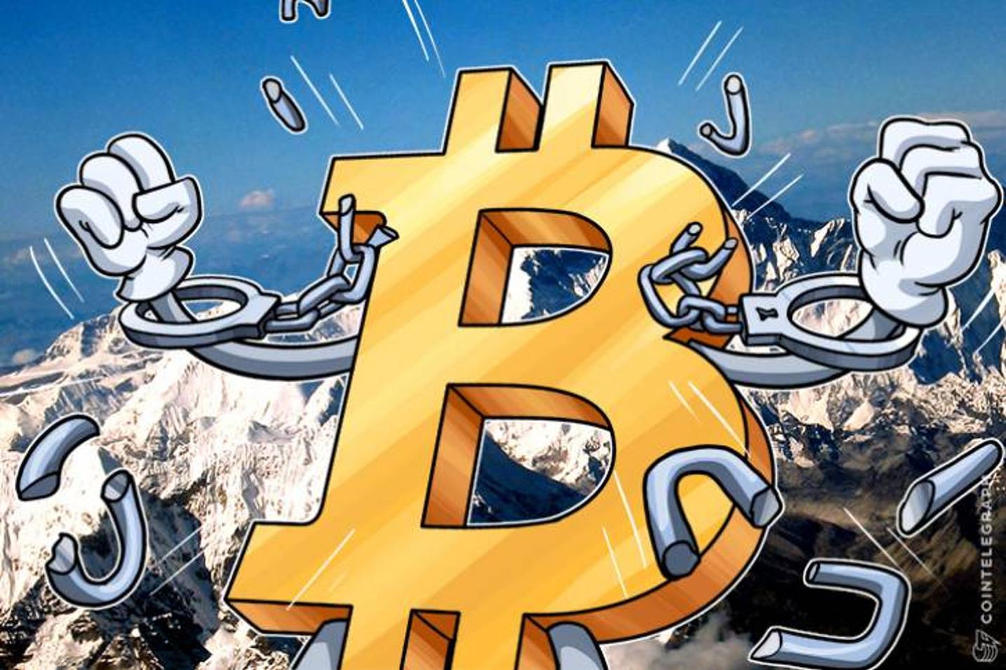 【速報】ビットコイン急反発 ダウ過去最大の上げ幅の中|ガチホ勢は揺るぎなし【仮想通貨相場】
