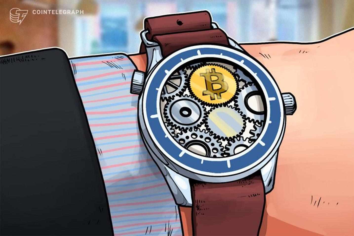 Schweizer Luxusuhrenmacher Franck Muller präsentiert Bitcoin-Uhr mit Cold-Wallet