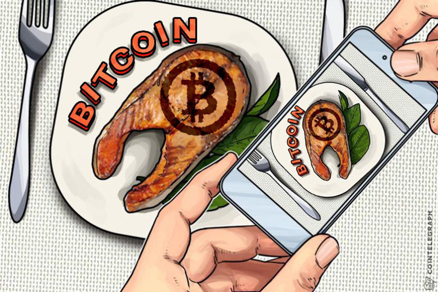 Bitcoin chega ao Gigante Alemão de Fast Food Lieferando