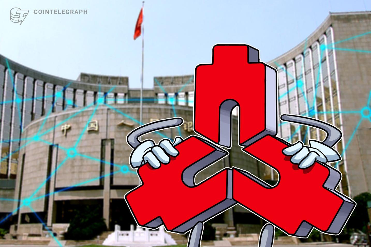 Blockchain-Plattform der chinesischen Zentralbank hat mehr als 4,36 Mrd. US-Dollar bewegt