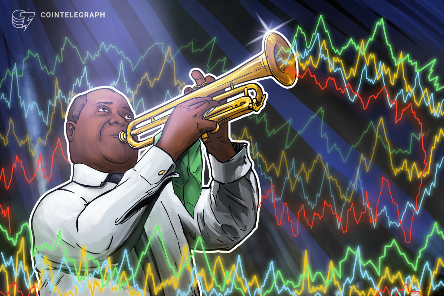 Top Coins See Mixed Signals, Bitcoin Hovers Near $9,700