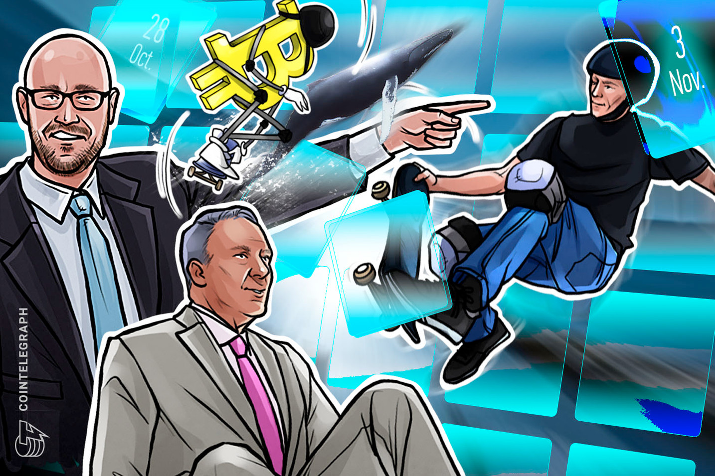 BitMEX Chaos, Cold Wallet Calamity, Germany Hates Crypto: Hodler's Digest, Oct. 28–Nov. 3