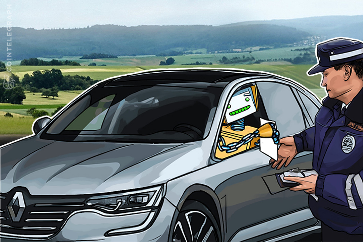 Renault Uses Blockchain to Store Car Passport Details