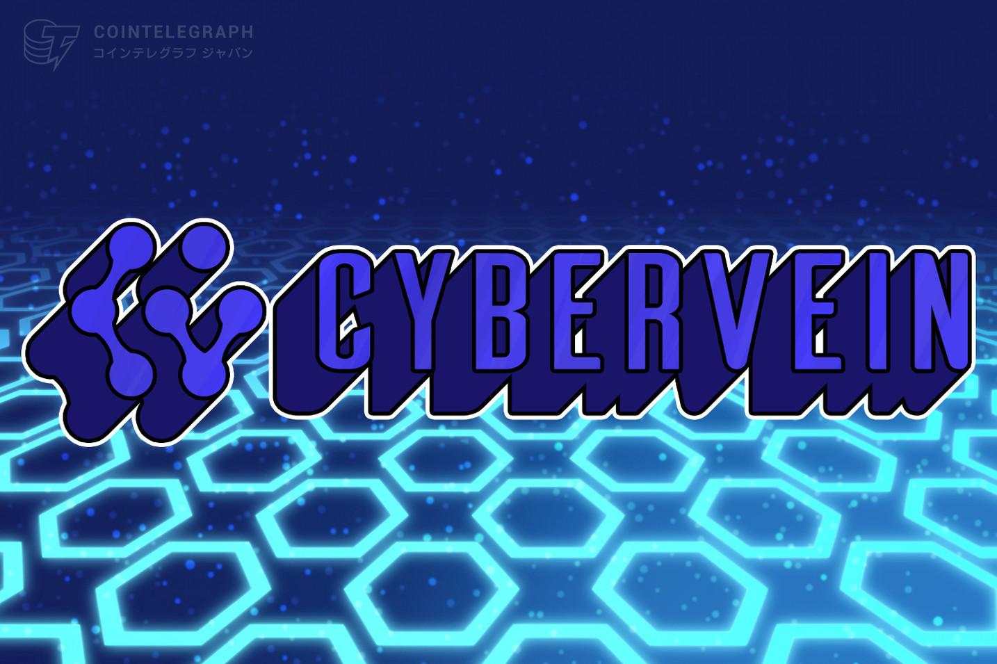 CyberVein オークション機能搭載のNFTプラットフォームを公開
