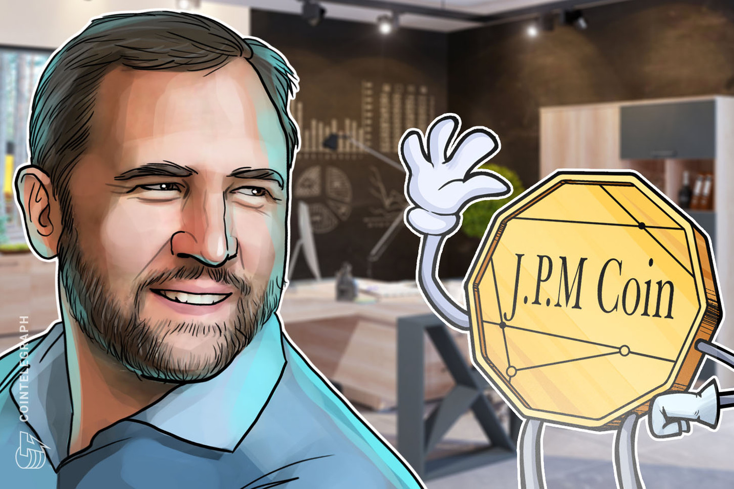 Ripple CEO Brad Garlinghouse Says JPMorgan Coin 'Misses the Point' of Crypto