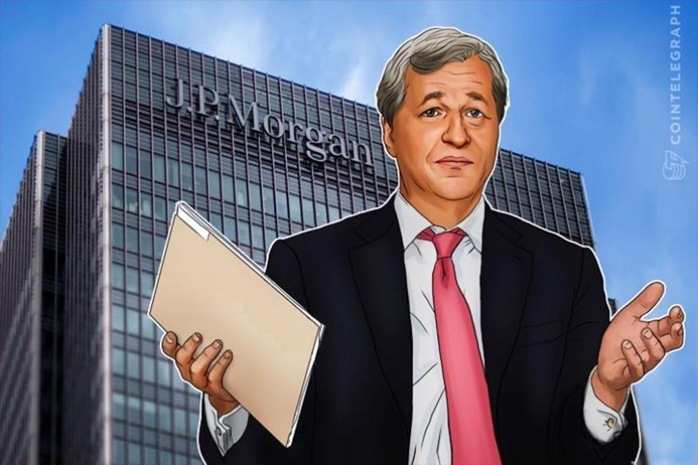 """JPモルガン、仮想通貨ビットコインの""""経験者""""採用 方針転換は否定"""