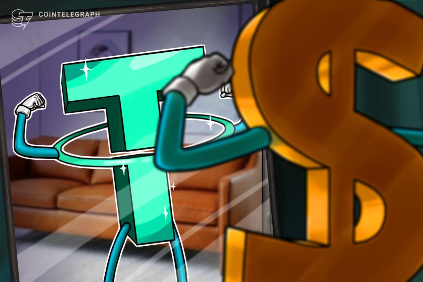テザーの時価総額が右肩上がりで増加 仮想通貨ビットコイン上昇を暗示か?