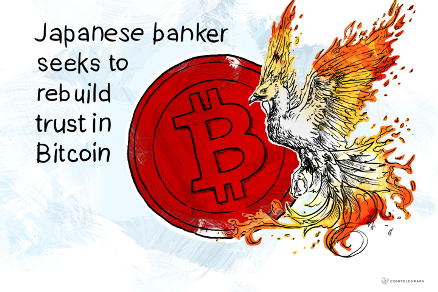Japanese banker seeks to rebuild trust in Bitcoin